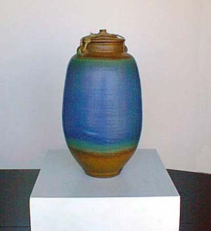 Chris Cunningham pottery jewelry Upstairs Gallery