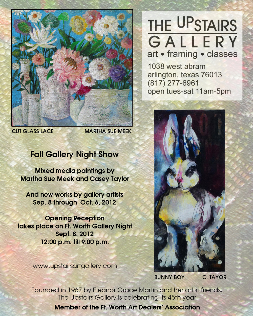 Art Show - The Upstairs Gallery