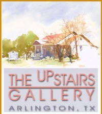 The Upstairs Gallery Logo
